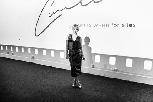 PRESSEVENT – CORNELIA WEBB FOR ELLOS